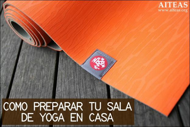 Como preparar tu sala de yoga en casa